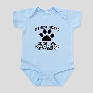 Polish Lowland Sheepdog Is My Best Infant Bodysuit