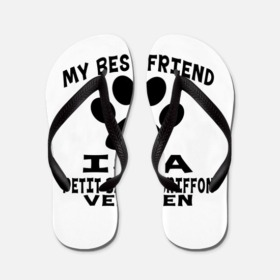 Petit Basset Griffon Vendeen Is My Best Flip Flops