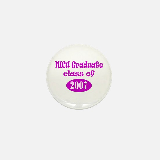 NICU Graduate Class of 2007 Mini Button