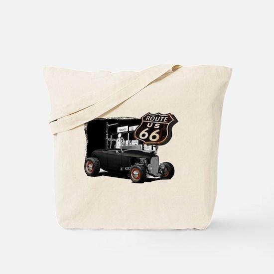 Cute Hot rod Tote Bag
