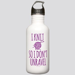 Knit So I Don't Unrave Stainless Water Bottle 1.0L