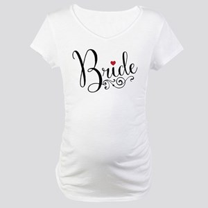 Elegant Bride Maternity T-Shirt