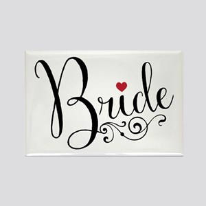 Elegant Bride Rectangle Magnet