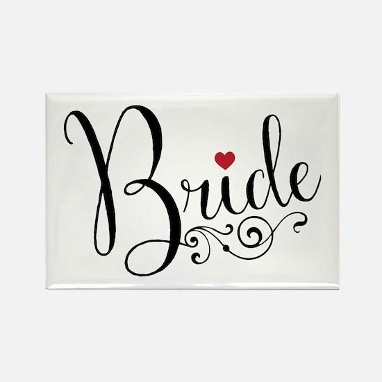 Elegant Bride Rectangle Magnet