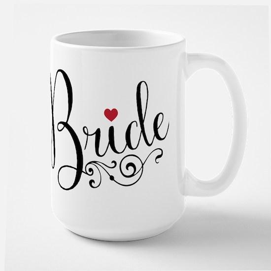 Elegant Bride Large Mug