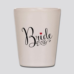 Elegant Bride Shot Glass