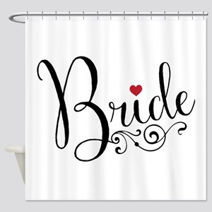 Elegant Bride Shower Curtain