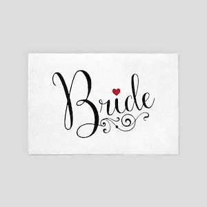 Elegant Bride 4' x 6' Rug