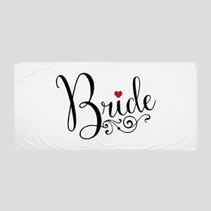 Elegant Bride Beach Towel
