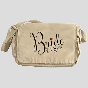 Elegant Bride Messenger Bag