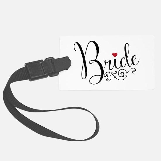 Elegant Bride Luggage Tag