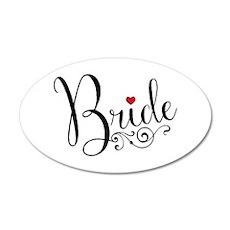 Elegant Bride Wall Decal