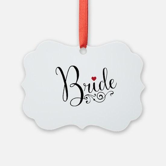 Elegant Bride Ornament