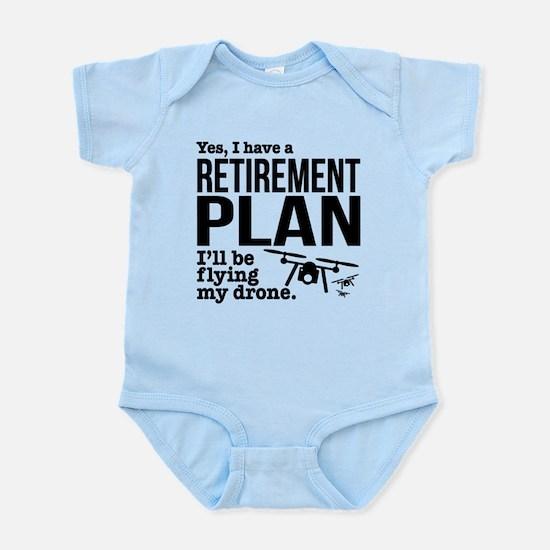 Drone Retirement Plan Body Suit
