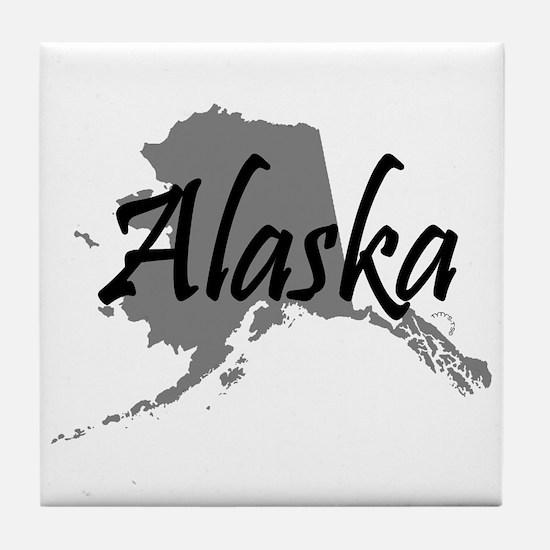 Alaska State Tile Coaster