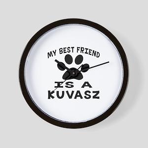 Kuvasz Is My Best Friend Wall Clock