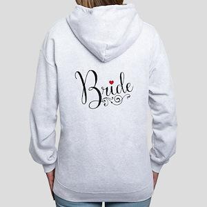 Elegant Bride Women's Zip Hoodie