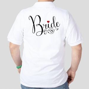 Elegant Bride Golf Shirt