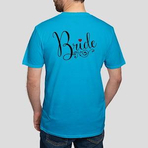 Elegant Bride Men's Fitted T-Shirt (dark)