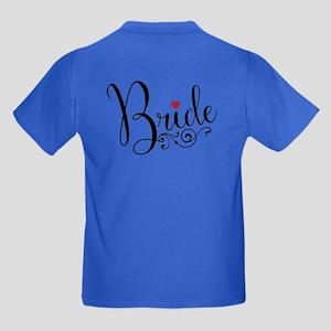 Elegant Bride Kids Dark T-Shirt