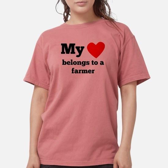 My Heart Belongs To A Farmer T-Shirt