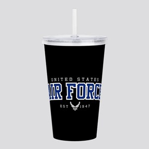 United States Air Forc Acrylic Double-wall Tumbler