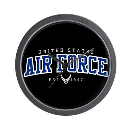 UNITED STATES AIR FORCE ATHLETIC WALL CLOCK