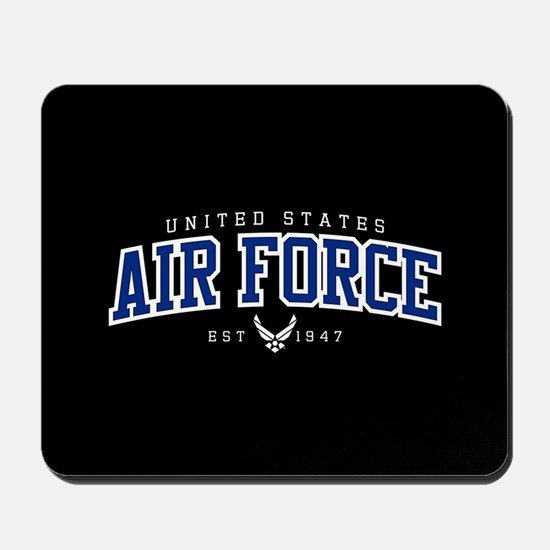United States Air Force Athletic Mousepad