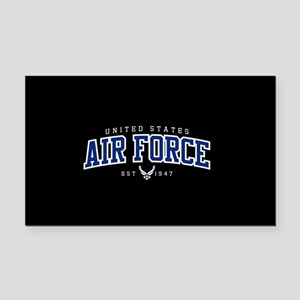 United States Air Force Athle Rectangle Car Magnet