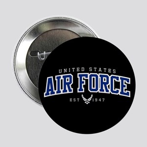 "United States Air Force Athletic 2.25"" Button"