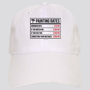 Funny Painting Rates Cap