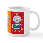 Robot Trio Mug