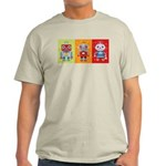 Robot Trio Light T-Shirt