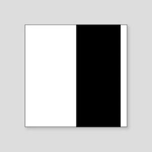 Black and White Sticker