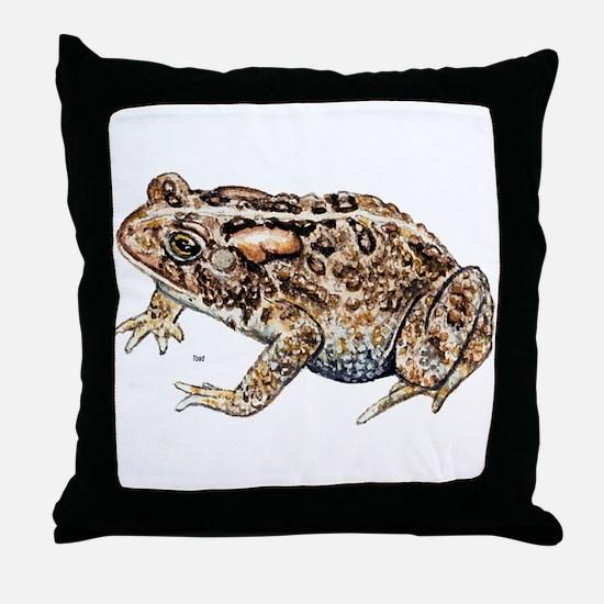 Toad Throw Pillow