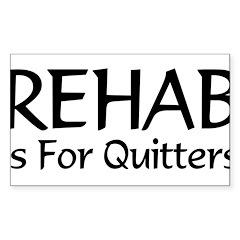 REHAB Rectangle Decal