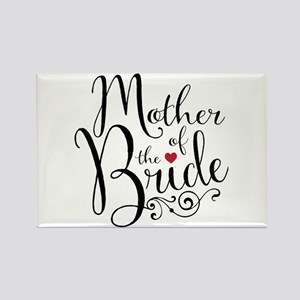 Mother of Bride Rectangle Magnet