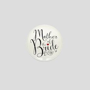Mother of Bride Mini Button