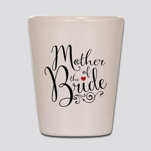 Mother of Bride Shot Glass