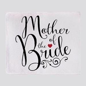 Mother of Bride Throw Blanket