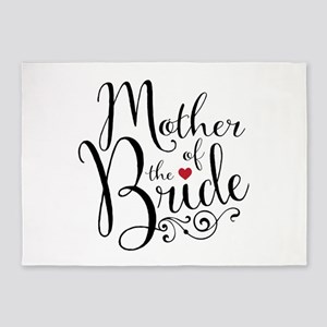 Mother Of Bride 5 X7 Area Rug