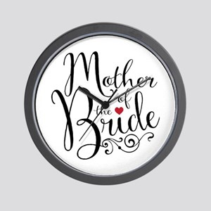 Mother of Bride Wall Clock
