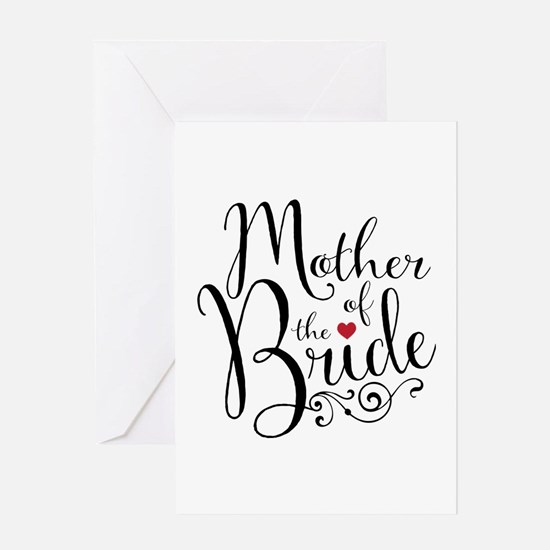 Mother of Bride Greeting Card