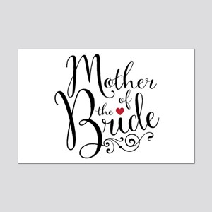Mother of Bride Mini Poster Print