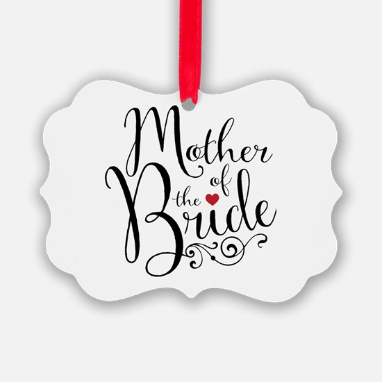 Mother of Bride Ornament