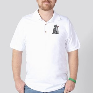 Penguin and Chick Golf Shirt