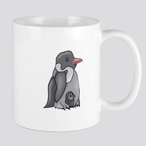 Penguin and Chick Mugs