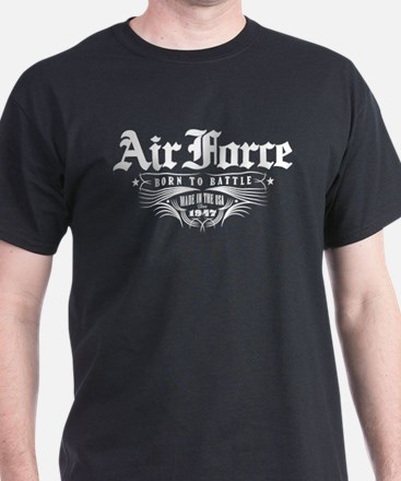 US Air Force Born to Battle T-Shirt