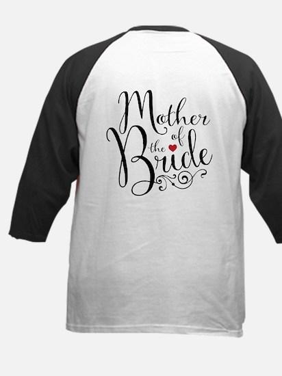 Mother of Bride Kids Baseball Jersey