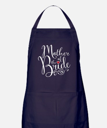 Mother of Bride Apron (dark)